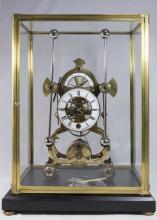 Grasshopper Skeleton Clock