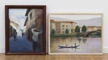 Chris Ford, Two European Landscapes