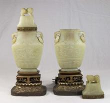 Pair Chinese Incense Burners