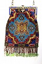 Ladies beaded bag ca. 1910-20's
