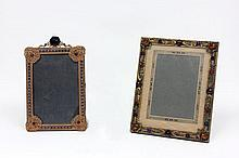 2 jeweled brass frames