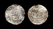 World Coins - Ireland - Henry VII - Three Crowns Groat