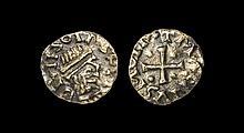 Merovingian Coins - Vienna - Brion - Pale Gold Portrait Tremissis