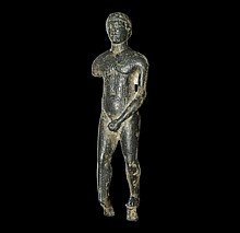 Greek Hellenistic Statuette with South Arabian Inscription