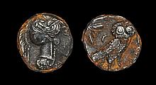 Ancient Greek Coins - Athens - Owl Tetradrachm
