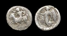 Ancient Greek Coins - Himera - Nike Hemidrachm