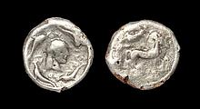 Ancient Greek Coins - Syracuse - Plated Arethusa Tetradrachm