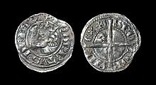 Scottish Medieval Hammered Coins - Robert the Bruce - Halfpenny