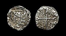 Irish Tudor Hammered Coins - Henry VII - Dublin - Penny