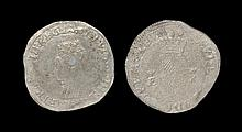Irish Tudor Hammered Coins - Ireland - Elizabeth I - First Coinage Shilling