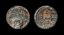 Ancient Greek Coins - Seleukid - Antiochos I Soter - Zeus AE11