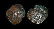 Ancient Byzantine Coins - Andronicus II - Patriarchal Cross Trachy