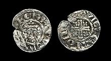 English Medieval Coins - Richard I - London / Willelm - Short Cross Penny