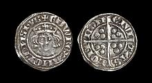 English Medieval Coins - Edward I - London - Long Cross Penny