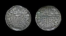 English Medieval Coins - Henry III - Continental Imitation - Long Cross Penny