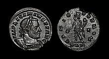 Ancient Roman Imperial Coins - Licinius I - London - Genius Follis