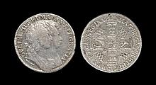 English Milled Coins - William and Mary - 1693 '9 over 0' - Shilling