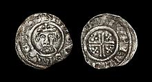 English Medieval Coins - Richard I - York / Turkil - Short Cross Penny