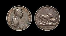 English Commemorative Medals - William Duke of Cumbria - 1745 - Silver Medal