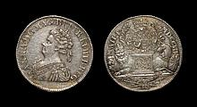 English Commemorative Medals - Anne - 1707 - Union of England and Scotland - Silver Commemorative Medal