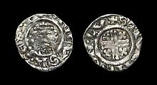English Medieval Coins - Richard I - London / Stivene - Short Cross Penny