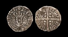 English Medieval Coins - Flanders - Robert of Béthune - Continental Sterling Imitation