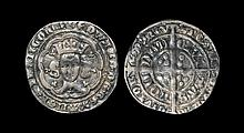 English Medieval Coins - Edward III - London - Pre Treaty Groat