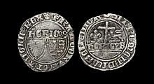 English Medieval Coins - Henry VI - Paris - Grand Blanc Aux Ecu