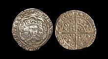 English Medieval Coins - Edward IV - Bristol - Groat