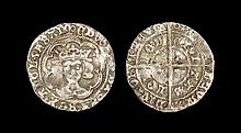 English Medieval Coins - Edward IV - London - Long Cross Groat