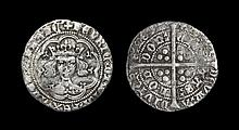 English Medieval Coins - Henry V - London - Groat