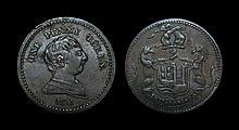 English Tokens - 19th Century Tokens - Bristol - 1811 - Token Penny
