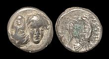 Ancient Greek Coins - Istros - Dolphin and Eagle Drachm