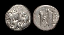 Ancient Greek Coins - Istrus - Dolphin and Eagle Drachm