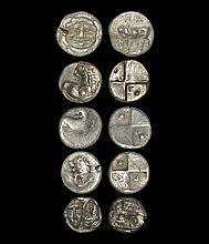 Ancient Greek Coins - Mixed Drachm, Hemidrachm and Triobol Group [5]