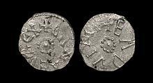 Anglo-Saxon Coins - Northumbria - Eanred - Eadwine - Silver Styca