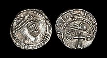 Anglo-Saxon Coins - Primary Phase - Series BIIIA - Bird on Cross Sceatta