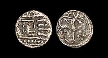 Anglo-Saxon Coins - Secondary Phase - Series R/Q Mule - Quadruped Sceatta