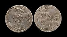 English Stuart Coins - Charles I - Briot Milled Sixpence