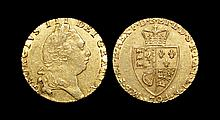 English Milled Coins - George III - 1794 - Gold 'Spade' Guinea