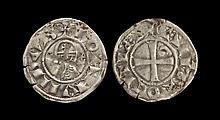 World Coins - Crusader Issues - Antioch - Bohemund III - Denier