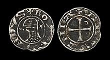 World Coins - Crusader States - Antioch - Bohemund V - Portrait Denier