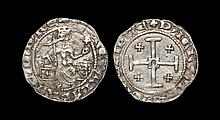 World Coins - Crusader States - Cyprus - Peter I - Gros