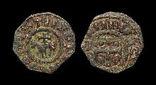 World Coins - Crusader States - Tripoli - Raymond II - Cross and Horse Pougeoise
