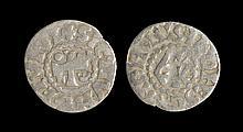 World Coins - France - Maine - Herbert I - Monogram Denier