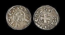 World Coins - France - Gien-Donzy - Geoffrey III - Denier