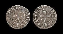 World Coins - France - Burgundy - Hugh IV - Denier