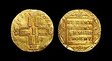 World Coins - Russia - Paul I - Trade Coinage - 1797 - Gold Ducat
