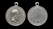 World Medals - Russia - Alexander III - Silver Medal for Zeal