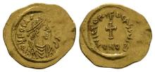 Ancient Byzantine Coins - Phocas - Cross Potent Gold Tremissis